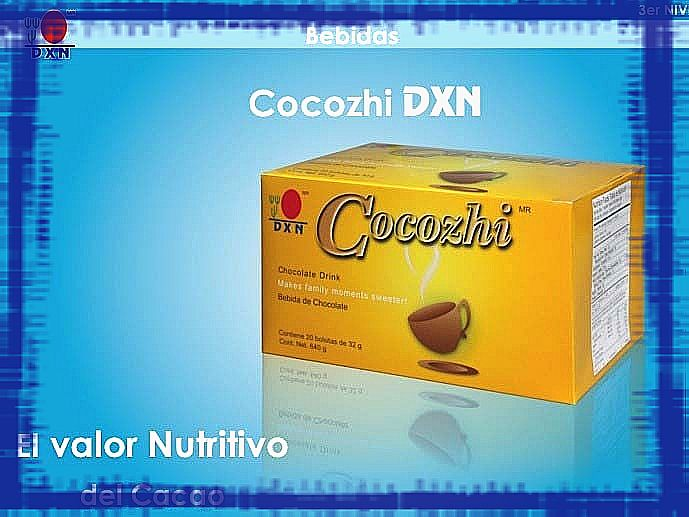 cocozhi productos dxn