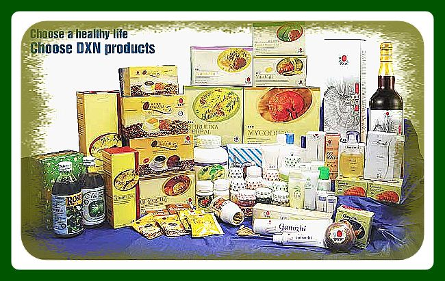 DXN-Productos